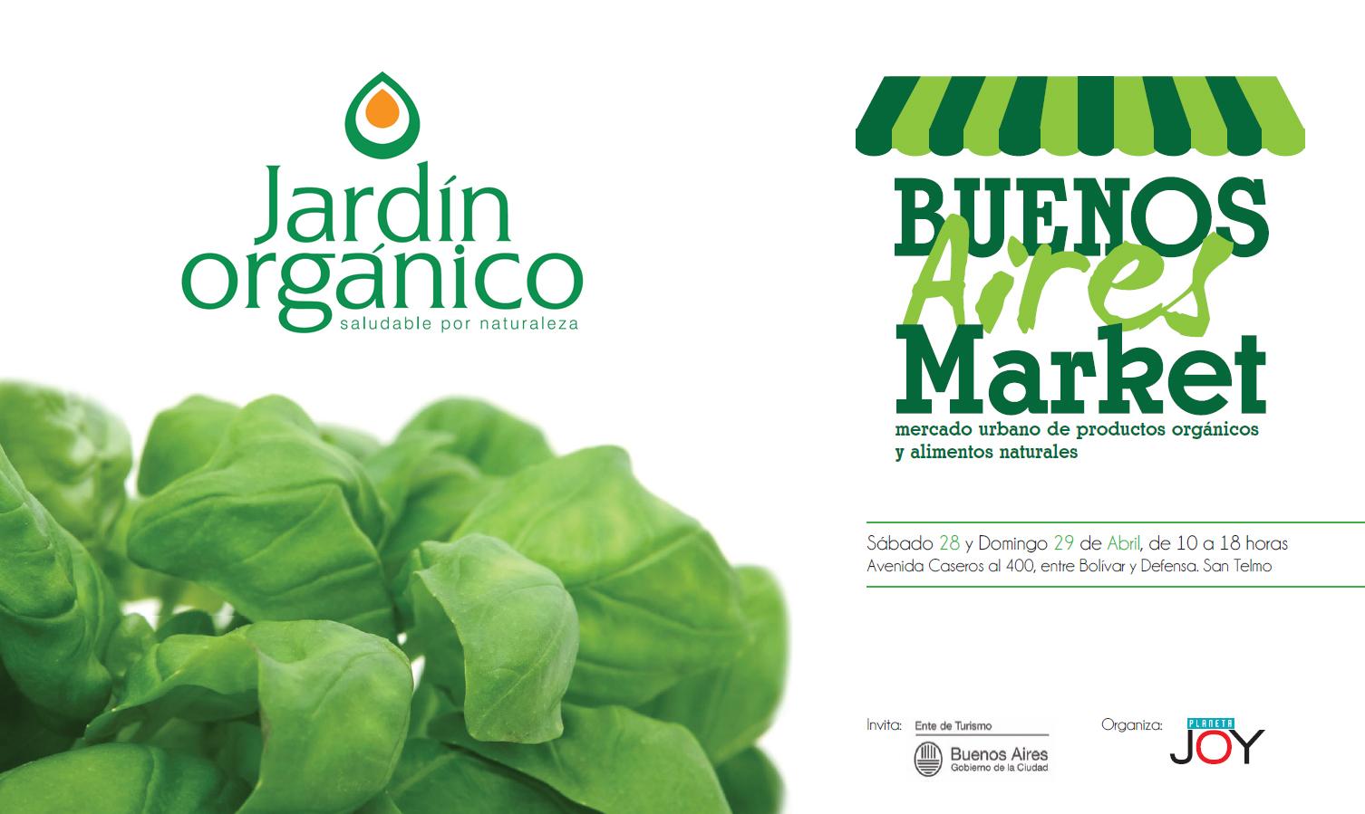 Jard n org nico en bs as market mundo flaneur for Jardin organico