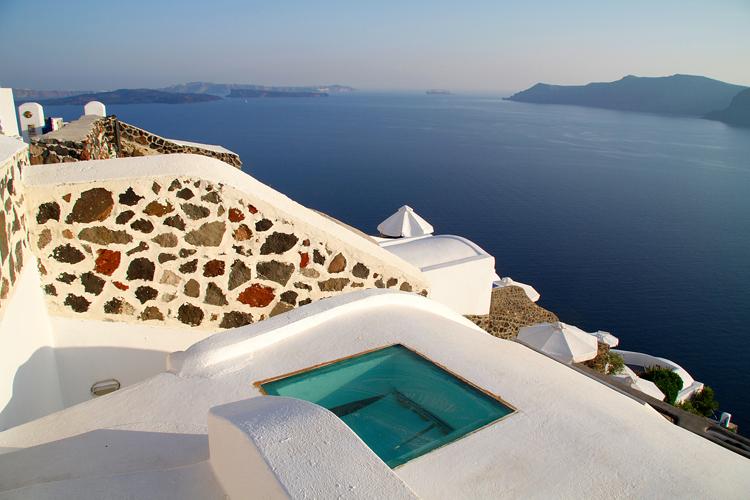 White Villa En Santorini Grecia Mundo Flaneur