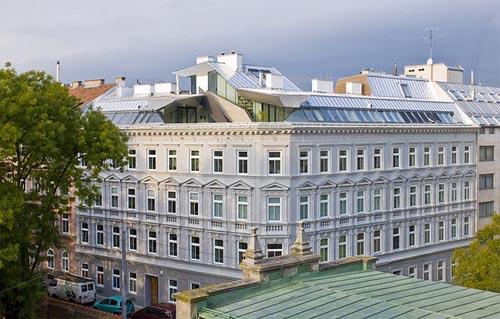 Loft renovado en viena mundo flaneur - Lakonis architekten ...
