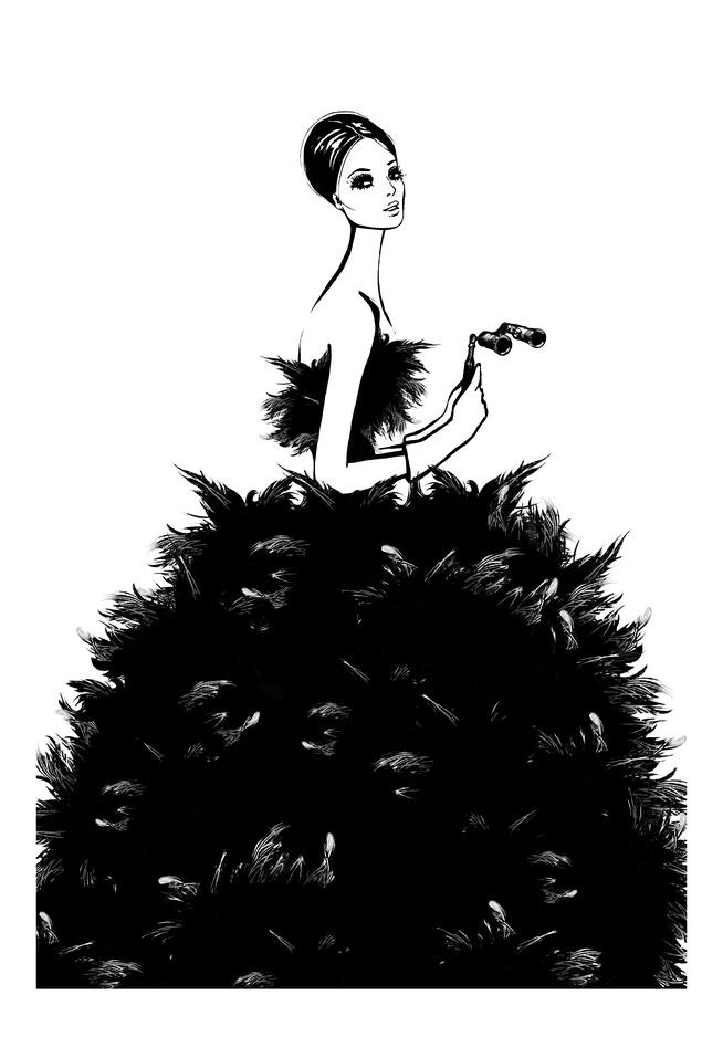 las ilustraciones de megan hess mundo flaneur