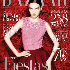 Harper's Bazaar Argentina | Magda Laguinge | Ph. Luciana Val & Franco Musso | Viste Bimba, Vicki Otero, El Camarín