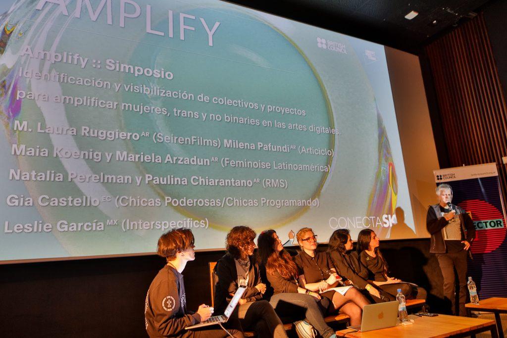 Simposio Amplify en el día 3 del festival
